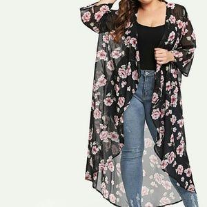 Tops - NEW - Floral Botique Kimono
